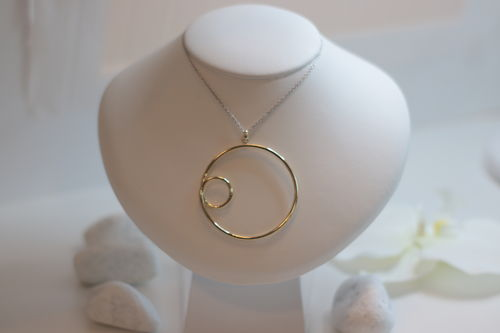 Collier (silber/gold)